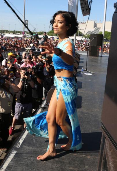 Jhene Aiko Performs At Hot 97 S Summer Jam Festival 2014
